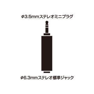 【定形外】audio-technica オーディオテクニカ / ATL419CS(φ3.5ステレオミニプラグとステレオ標準ジャックの変換プラグ)|bloomz