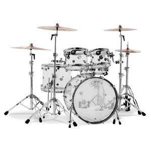 DW / Design Series 5-Piece Shell Pack / Clear Acrylic ドラムセット bloomz