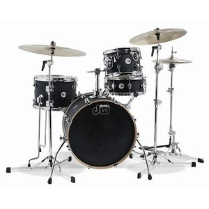 DW / Design Series MINI PRO 4pc Shell Pack-18/13 Black Satin ドラムセット bloomz