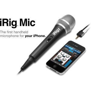 IK Multimedia / iRig Mic(iPhone,iPad,iPod用 マイク)|bloomz