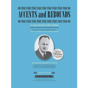 ACCENTS & REBOUNDS・アクセント&リバウンド (George Lawrence Stone著) / パーカッション・ドラム輸入教則本|bloomz