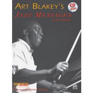 ART BLAKEY'S JAZZ MESSAGES (John Ramsey著) / アートブレイキー解説教本 CD付き パーカッション・ドラム輸入教則本|bloomz