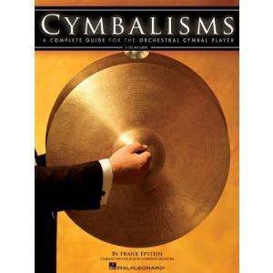 CYMBALISMS / シンバリズムス (Frank Epstein著) / クラシック・シンバル総合教本 CD付き パーカッション・ドラム輸入教則本|bloomz