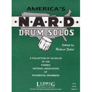N.A.R.D. (Richard Sakal著) / 全米ルーディメント・ドラマー協会推奨 高難度スネアソロ150曲 パーカッション・ドラム輸入教則本|bloomz