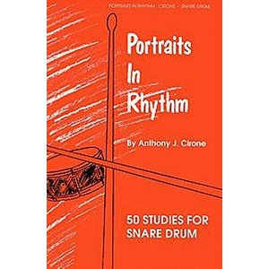 PORTRAITS IN RHYTHM / ポートレイト・イン・リズム (Anthony J. Cirone著) / 変拍子読譜メソッド パーカッション・ドラム輸入教則本|bloomz