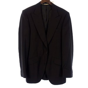ドルチェアンドガッバーナ/DOLCE&GABBANA 1Bテーラードジャケット ブラック サイズ 46 ブラック ランクA 102 40J17 (中古)|blowz