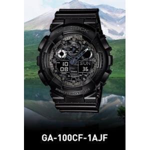 CASIO カシオ 腕時計 G-SHOCK Gショック GA-100CF-1AJF メンズ [日本国内モデル]|blue-angel