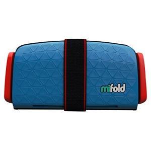 mifold(マイフォールド) ジュニアシート 携帯型 [日本正規品] デニムブルー 3歳~ BCM...