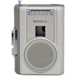 送料無料 KOHKA ラジオ付き カセット テープレコーダー WINTECH PCT-02RM