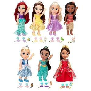 【送料無料!!】ディズニー ドール 『☆Disney doll☆5』人形 ベル アリエル ラプンツェル ジャスミン モアナ  プリンセス 着替人形 ままごと