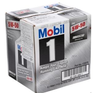 【送料無料】モービル1 『Mobil1  5w-50 6本』 化学合成油 5w-50 SAE エンジンオイル モービルワン  SN規格|blue-mermaid