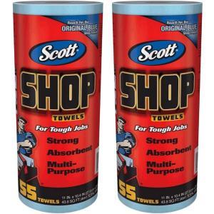 【送料無料】Scott SHOP TOWELS 『スコット カーショップタオル 2本』 55枚x2個...