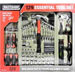 【送料無料】MASTERGRIP  『マスターグリップ 工具セット』DIY  129ツール  メカニックツールセット 129PC   工具セット|blue-mermaid
