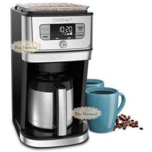 【送料無料!!】Cuisinart 『 コーヒーメーカー 10コップ』クイジナート 全自動 10カップ オートマチック コーヒーメーカー DGB-850PCJ|blue-mermaid