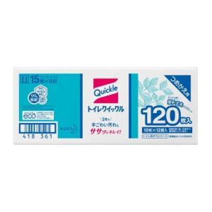 【送料無料】花王 『トイレクイックル』業務用 10枚入り×12パック=120枚  詰替え用  トイレ...