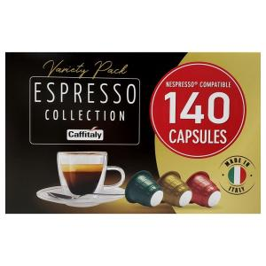 【送料無料】ネスプレッソ  『コーヒーカプセル 140 』レギュラーコーヒー(カプセル入り)140個 エスプレッソ コレクション  大容量 ネスプレッソ互換カプセル|blue-mermaid