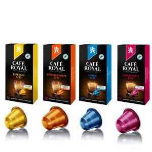 【送料無料】Cafe Royal 『カフェロイヤル 5種類アソート』 ネスプレッソ互換カプセル 60...