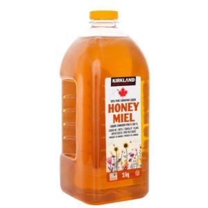 【送料無料】カークランド 3kg『ハチミツ 3kg』はちみつ 100% ピュア 天然  調味料 コストコ ハニーミール 大容量 業務用