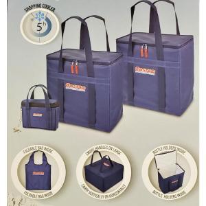 【送料無料】コストコcostco『保冷バッグ 3パック』3個セット クーラーバッグ 58L 49L エコバッグ ショッピングバッグ ボックス型 COOLER BAG 大容量|blue-mermaid