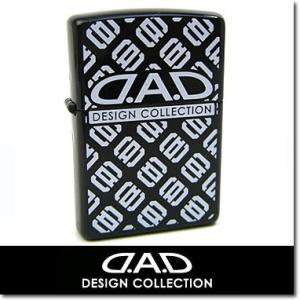 Zippo ジッポ ライター DAD デーアーデー エステロ プリント ロゴ 2002 ブラック