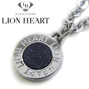 ライオンハート ネックレス メンズ LION HEART サークルペンダント 04N126SM ステンレスネックレス