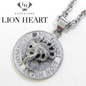 ライオンハート ネックレス レディース LION HEART Howl コインペンダント 04N144SL ステンレスネックレス