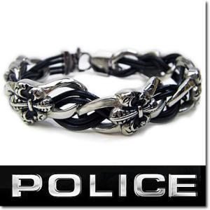 ポリス ブレスレット POLICE メンズ ブレスレット S...