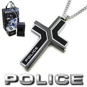 ポリス ネックレス POLICE メンズ クロス ペンダント COLMAR 26531PSB01 ス...
