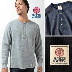 フランクリンマーシャル Tシャツ メンズ 長袖 ロンT FRANKLIN&MARSHALL