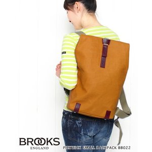 BROOKS ブルックス ピックウィック スモール バックパック PICKWICK SMALL BACKPACK BB022|bluebeat-y