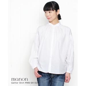 【30%OFF】(メール便OK)・manon マノンアミカルシャツ 2色 MNN-SH-024 bluebeat-y