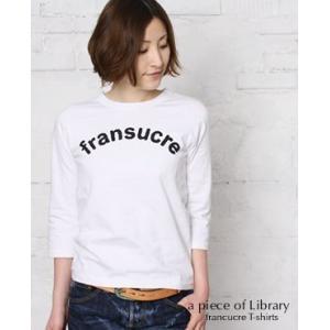 (ネコポスOK) a piece of Library ア ピース オブ ライブラリー SUCRE 7分袖Tシャツ 3色 216125|bluebeat-y