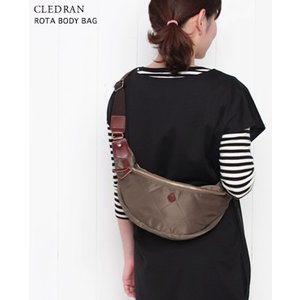 CLEDRAN クレドラン ROTA BODY BAG ナイロン ボディーバック 3色 CL2146|bluebeat-y