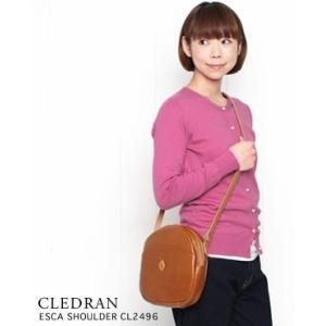 CLEDRAN クレドラン ラウンド ショルダーバッグ ESCA SHOULDER 3色 CL-2496 bluebeat-y