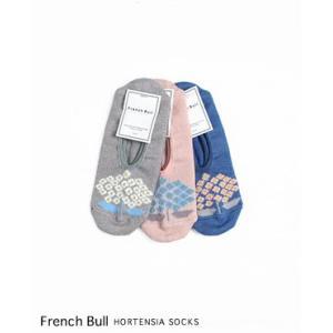 (ネコポスOK) French bull フレンチブル オルタンシア カバー ソックス 3色 116-361|bluebeat-y