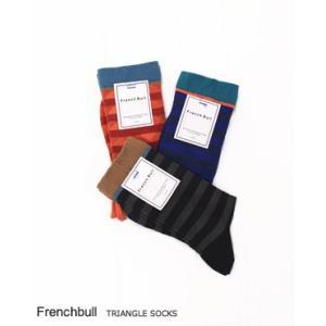 (ネコポスOK) French bullフレンチブル トライアングルソックス 3色 116-369|bluebeat-y