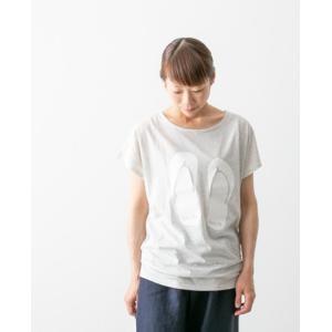 【30%OFF】(メール便OK)・miroum ミロウム プリント Tシャツ
