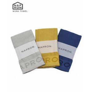 (メール便OK) NAPRON ナプロン WORK TOWEL ワーク タオル 3色 TB-AC03 bluebeat-y