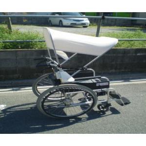 【レンタル 6か月 初回】車椅子用日傘(標準型)|bluebird-garage