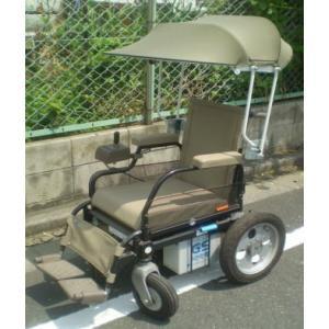 電動車椅子用日傘(特注品)|bluebird-garage