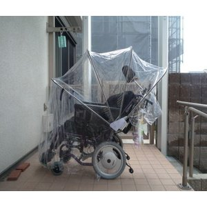 電動車椅子用アンブレラ(特注品)|bluebird-garage