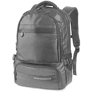 リュック 大容量 レディース メンズ PCバッグ ビジネスリュック出張 旅行 多機能 人気 丈夫 15.6インチ (黒 one-size)|bluebird-shoji