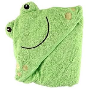 Luvable Friends ラバブルフレンズ Animal Face Hooded Towel アニマル (フロッグ 76x91cm)|bluebird-shoji