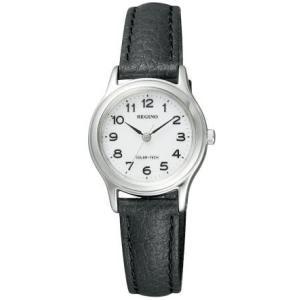 [シチズン]CITIZEN 腕時計 REGUNO レグノ ソーラーテック スタンダードモデル RS26-0033C レディース(文字盤色-ホワイト) bluebird-shoji