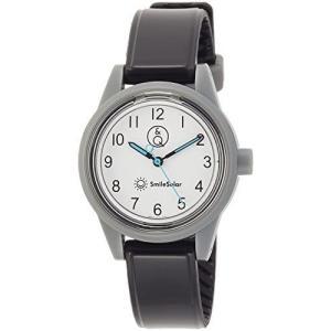 [シチズン Q&Q] 腕時計 アナログ スマイルソーラー 防水 ウレタンベルト RP01-012 レディース ホワイト × (ホワイト/ブラック) bluebird-shoji