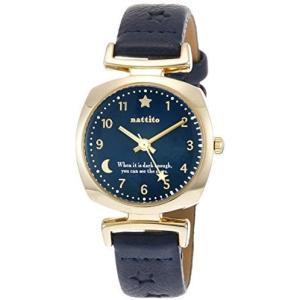 [フィールドワーク]Fieldwork 腕時計 アナログ エマー 直径30mm 革ベルト ネイビー QKS171-4 レディース (ネイビー) bluebird-shoji