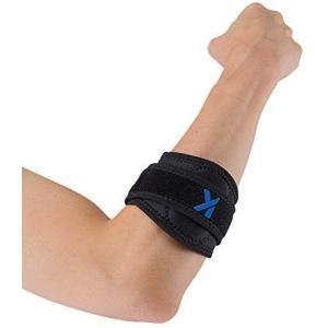 KATYOU肘サポーター エルボーバンド テニス肘 ゴルフ肘 サポーター ヒジ 肘用 スポーツ用 野球 バスケ 左右兼用 男女兼用 (2個 L) bluebird-shoji
