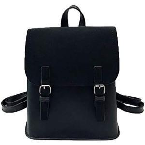 [プチハピ] リュックサック リュック バッグ バック 鞄 かばん 大きめ ショルダーバッグ ショルダーバック 斜め掛け ハンドバッグ (ブラック)|bluebird-shoji