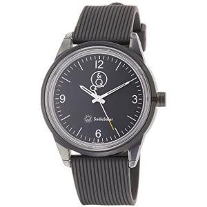 [シチズン Q&Q] 腕時計 アナログ スマイルソーラー 防水 ウレタンベルト RP10-003 メンズ グレー (グレー) bluebird-shoji