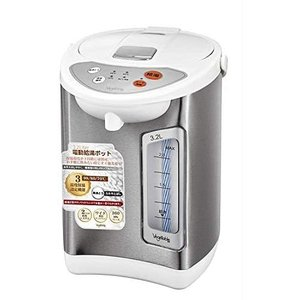 3.2L 温度3段階 電動給湯ポット GD-UP320 (ホワイト)|bluebird-shoji